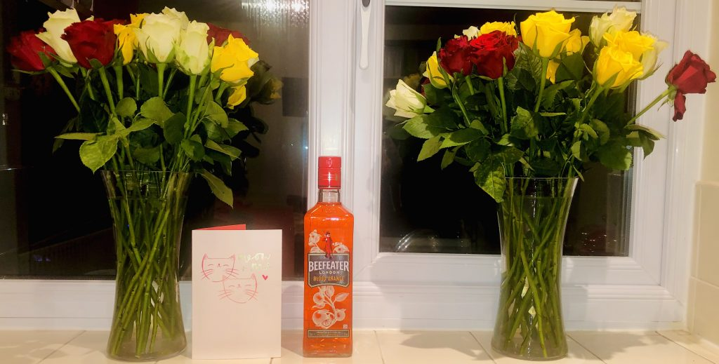 Roses and Gin and a Card