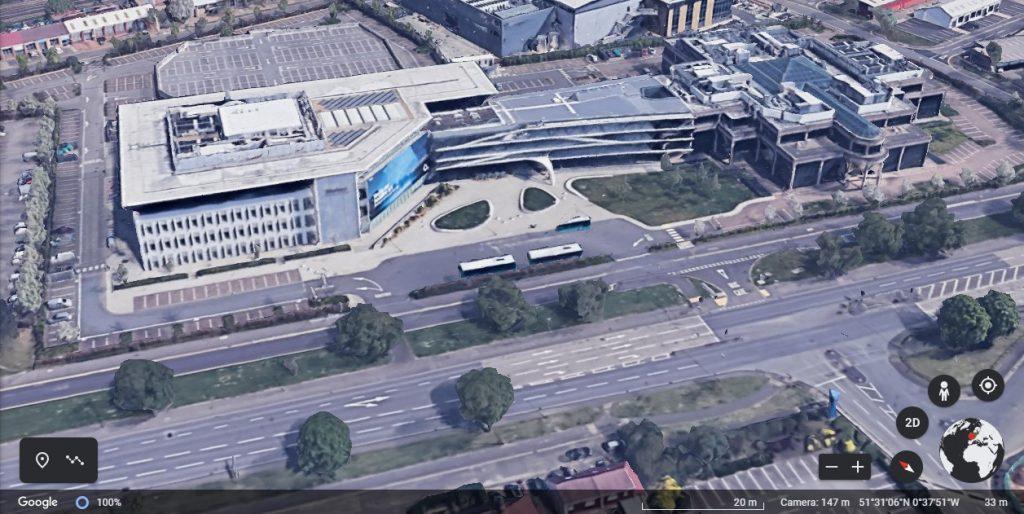 Bath Road - Google Earth